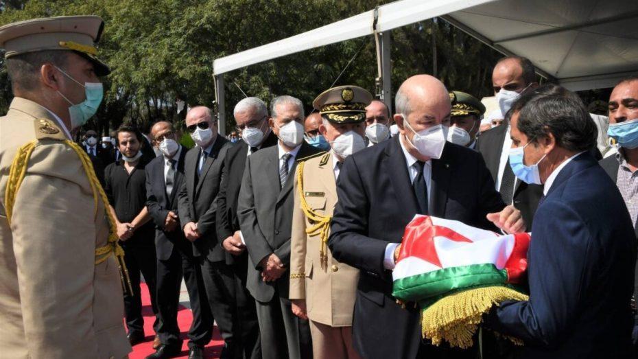 بالفيديو والصور.. الرئاسة تعلق على جنازة الرئيس الراحل عبدالعزيز بوتفليقة