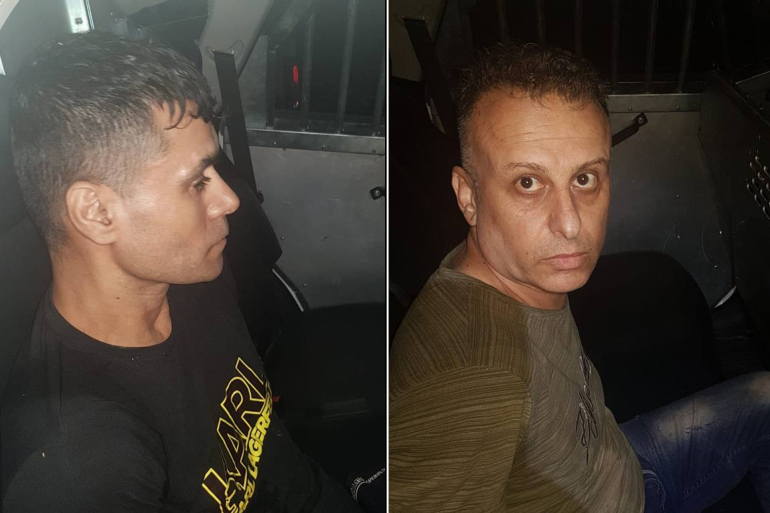 القبض على اثنين من الأسرى الستة الفارين من سجن جلبوع