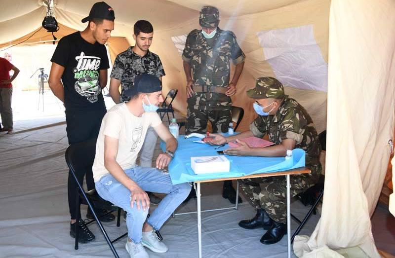 وزارة الدفاع الوطني تشارك في حملة التلقيح ضد كورونا