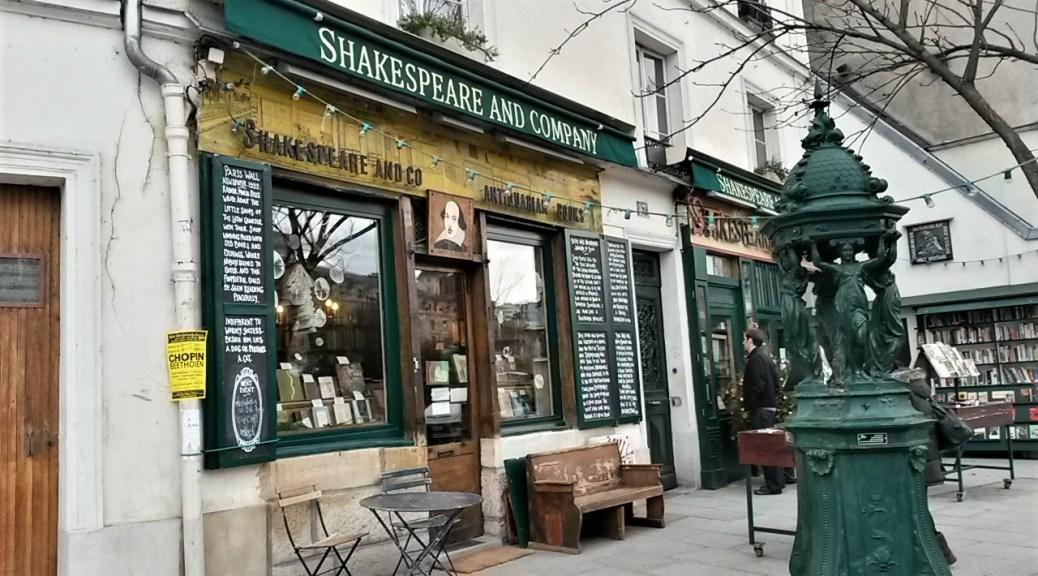 Famous Parisienne Book Store