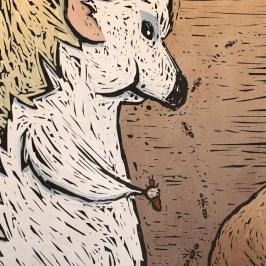 awshurtliff_hedgehog_illustration_watercolor_mixed-media