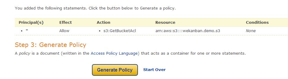 Amazon Web Services S3 Part 2 – S3 Bucket Permissions