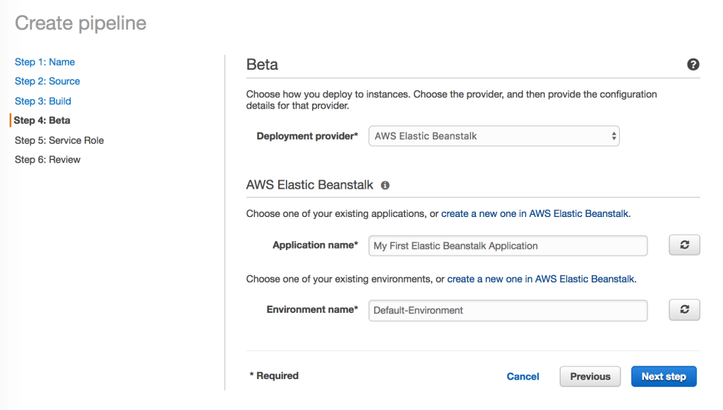 AWS Elastic Beanstalk MultiContainer Docker deployment with