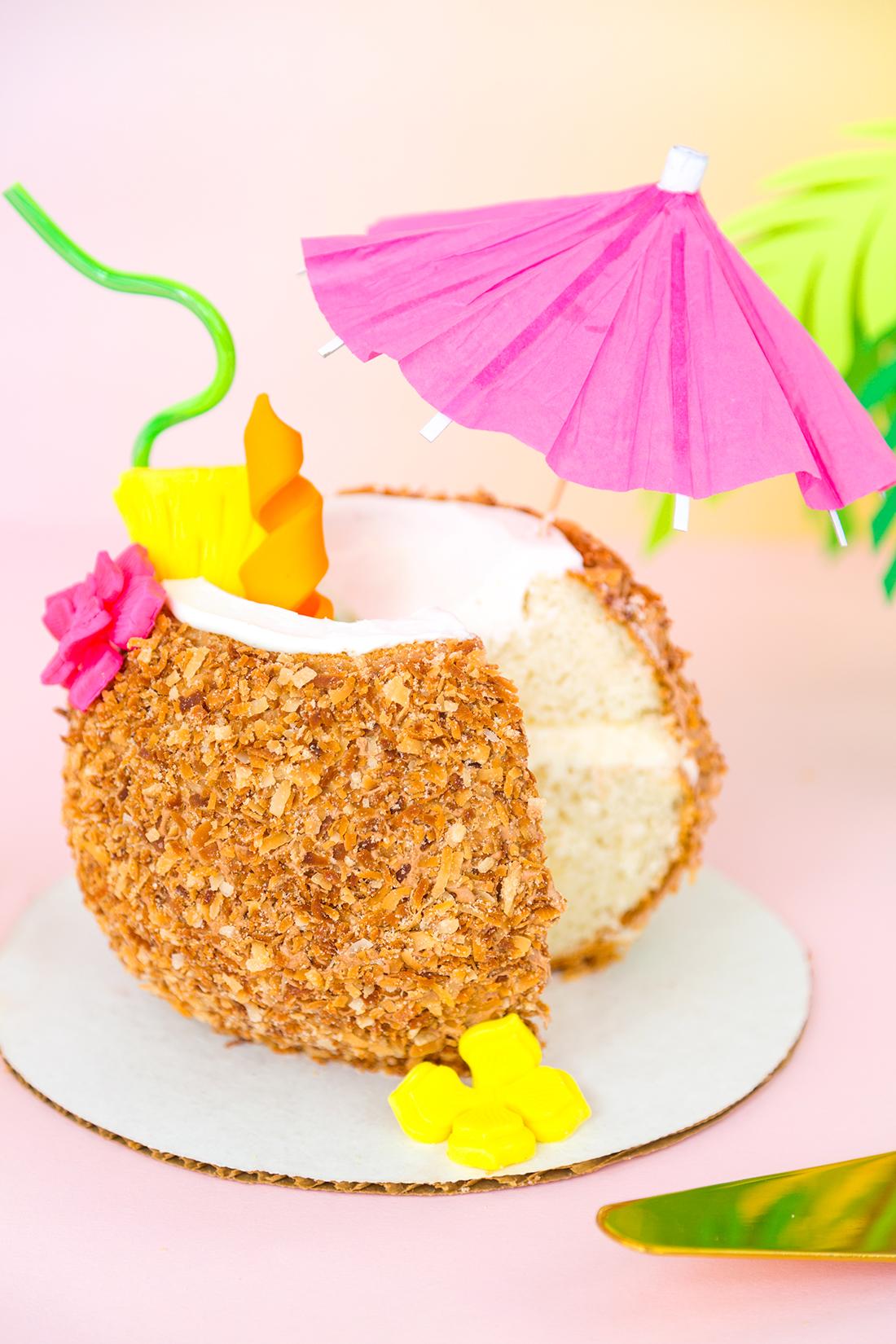 187 Pi 241 A Colada Coconut Drink Cake