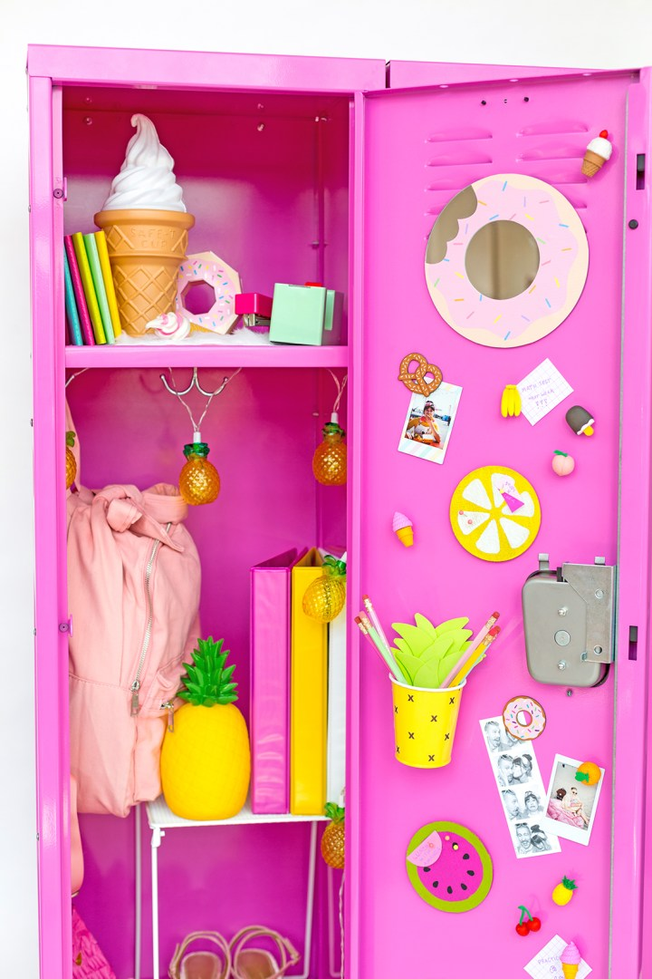 Locker decor diy for Locker decorations you can make at home