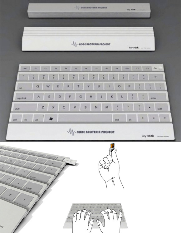 Ultra-compact Foldable Keyboard