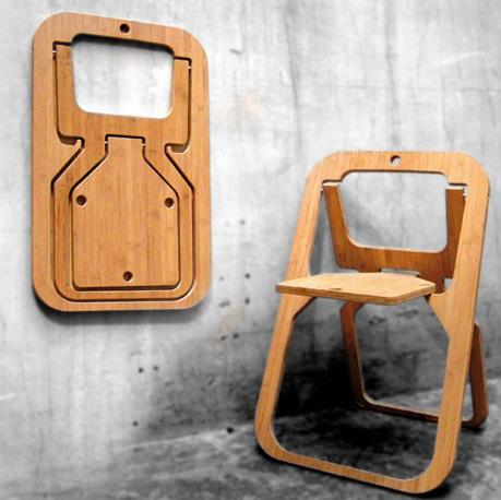 เก้าอี้พับ Desile