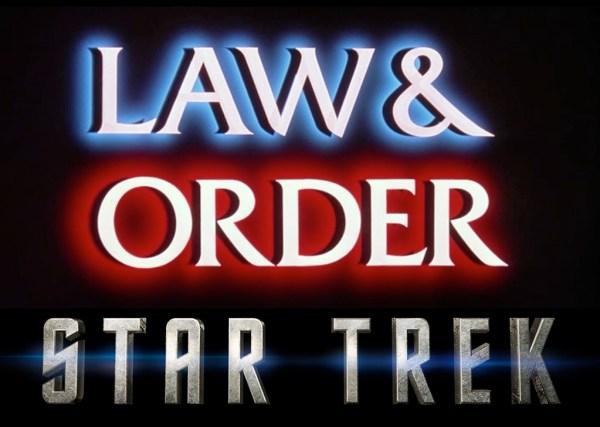 Law and Order - Star Trek