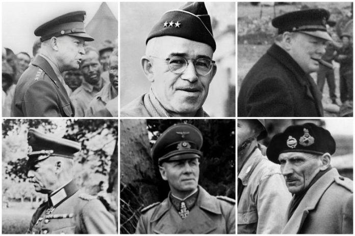 Chefs militaires du jour J