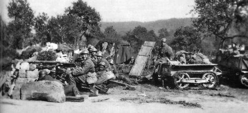 Stonne 1940 - soldats français