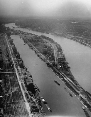 IG Farben Rhin 1945
