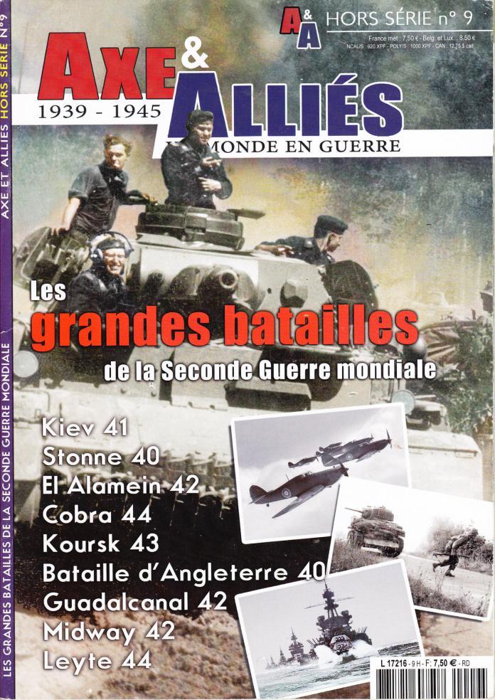 Axe & Alliés - 1939 - 1945 - Hors série 09
