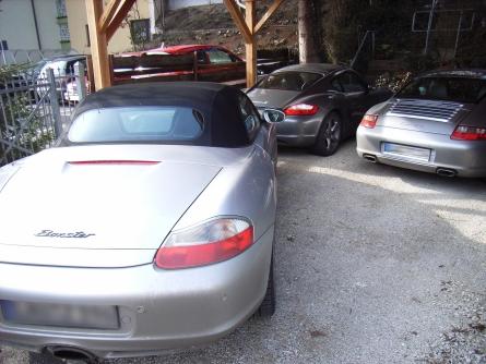 Porscheparkplatz