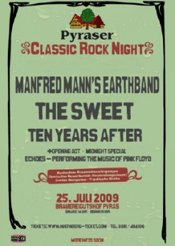 Classic Rock Night Pyras