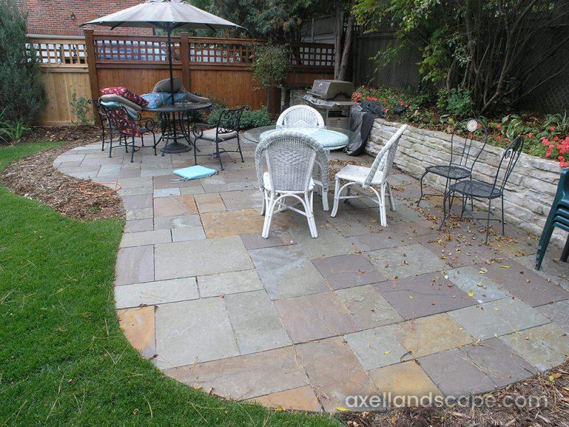 natural stone patios axel landscape