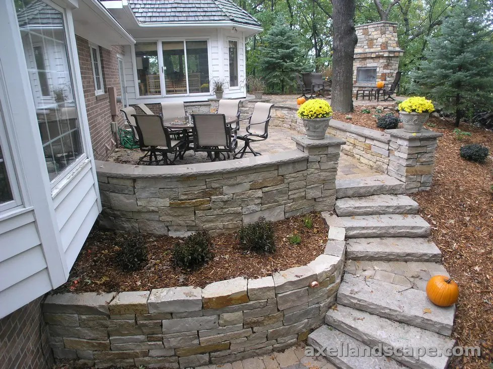 Retaining Wall Ideas: Does Your Yard Need One? | Axel ... on Wall Ideas For Yard id=16978