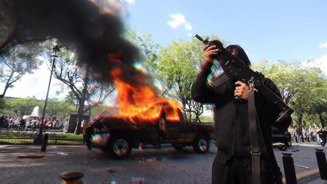 acusa alfaro intervencionismo en protestas de jalisco