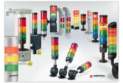 colonnes lumineuses industrielles werma