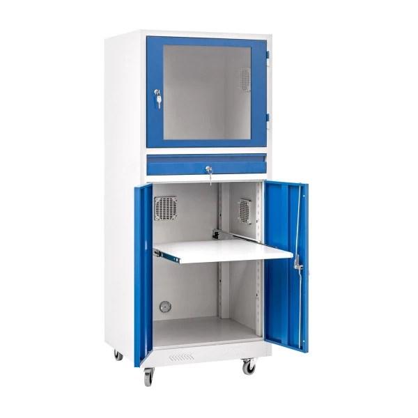 armoire ordinateur fermee armoire ou