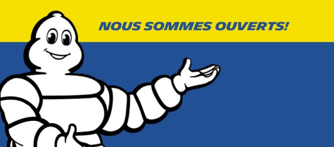 Michelin est ouvert
