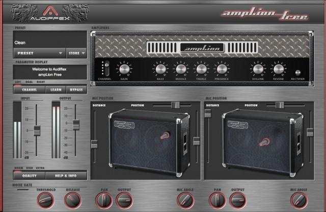 Free Guitar Amp Software