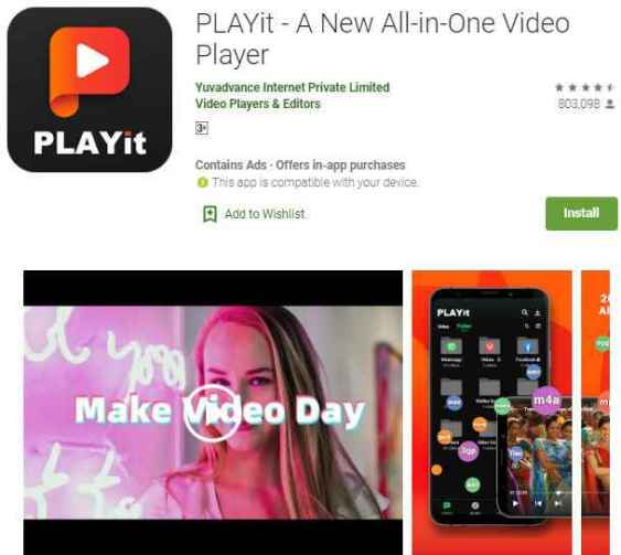 Playit android mobile player, Best Video Player For Android
