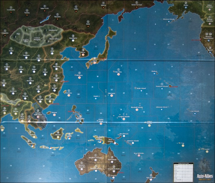 Image  Axis   Allies Pacific 1940 Map   Axis   Allies  org Axis   Allies Pacific 1940 Map 2770