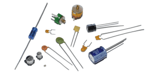 Capacitors and resisters