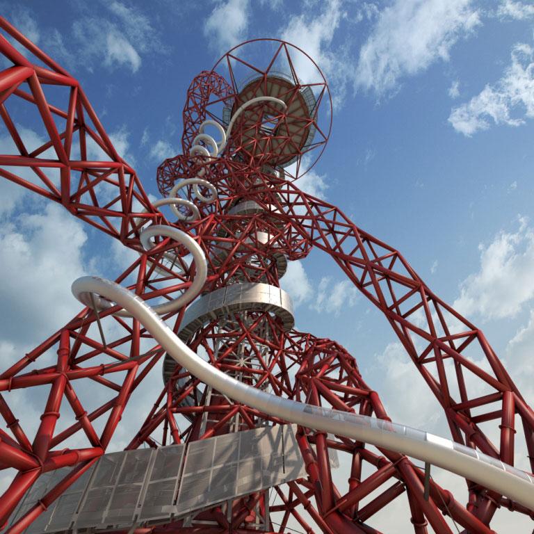 Arcelor Mittal Orbit the Slide from bottom