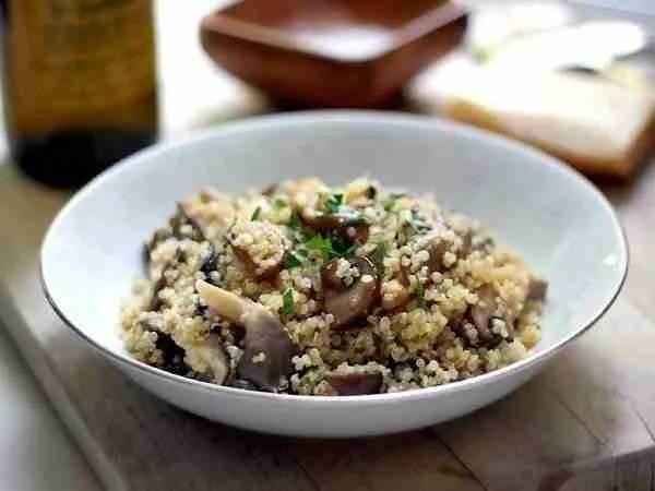 quinoa_funghi_porcini