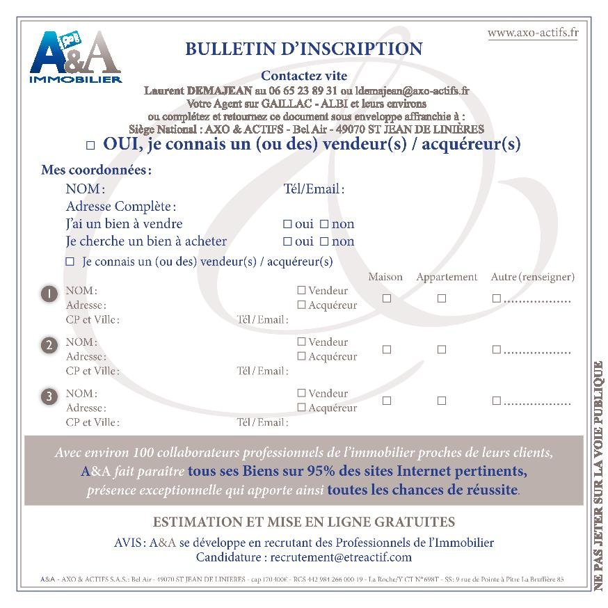 Flyer apporteur d'affaires