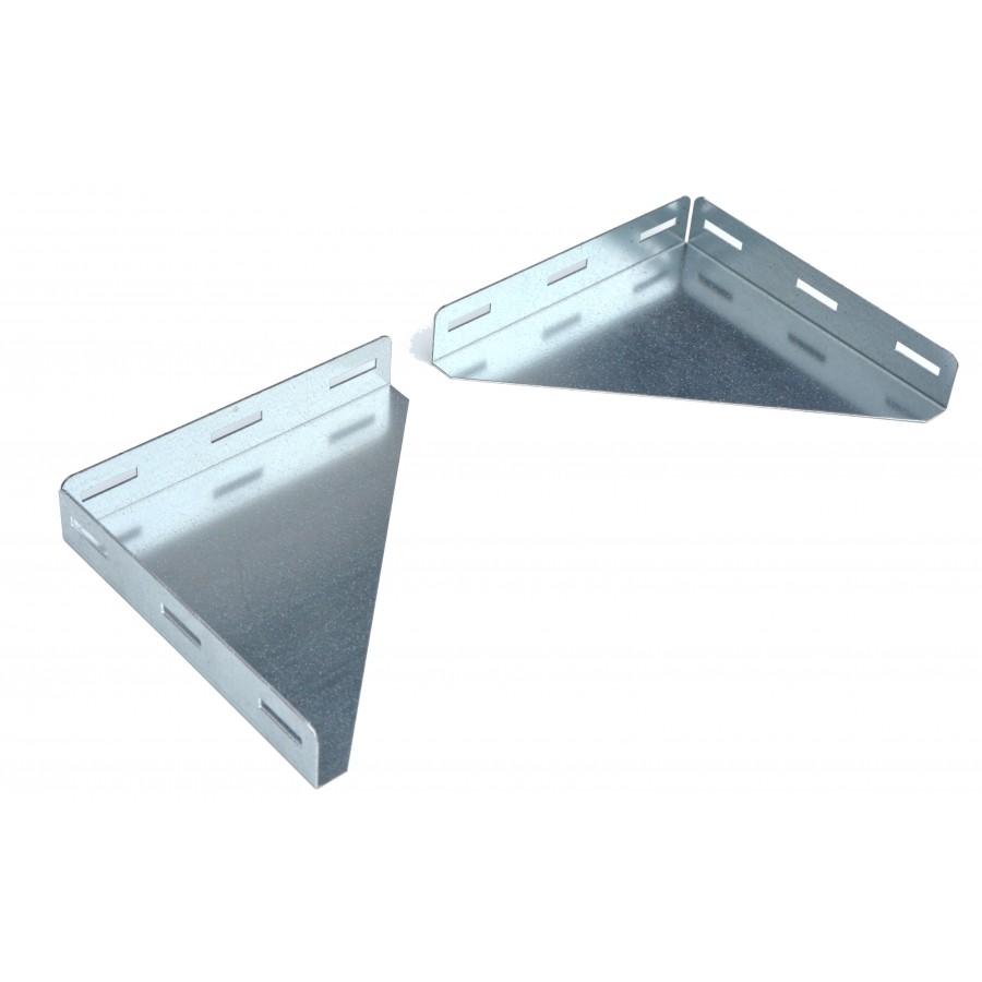 equerre metallique pour etagere murale la paire