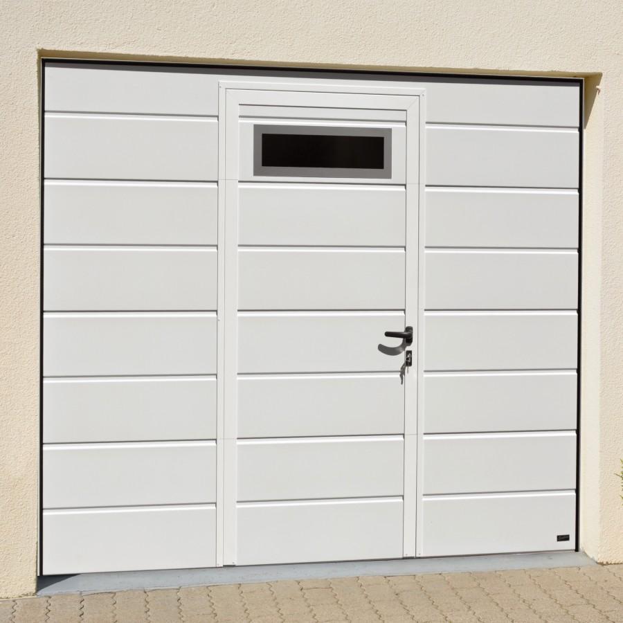 Porte De Garage Avec Portillon Pas Cher Gamboahinestrosa