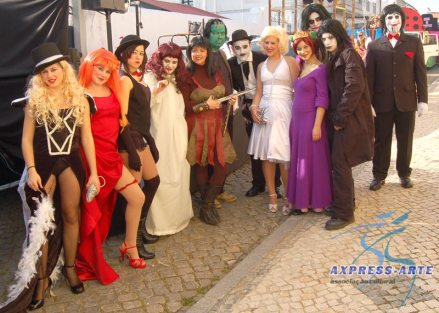 O grupo da Axpress-Arte