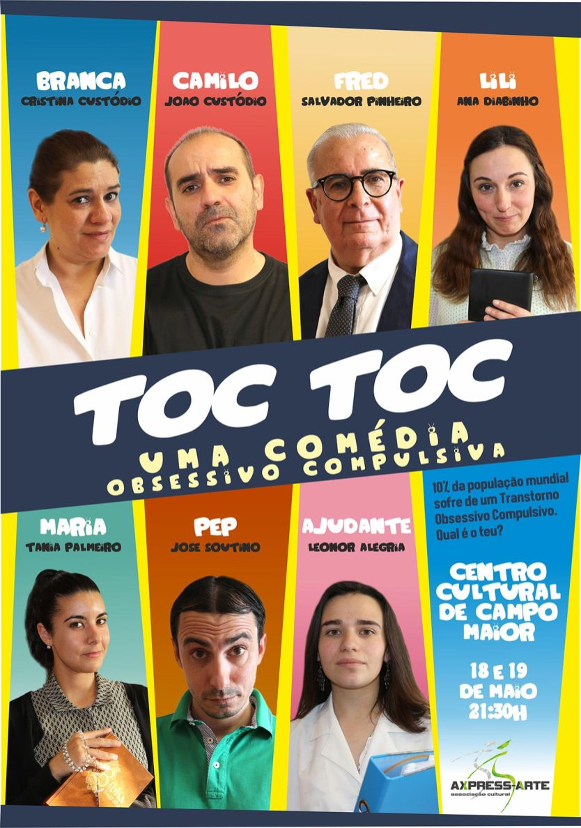 Toc Toc - Cartaz