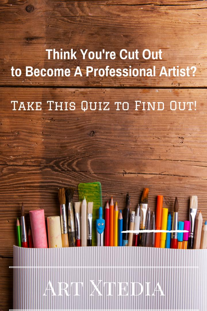 Are You A Professional Artist? Take This Quiz