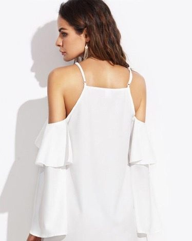 white dress cleaning