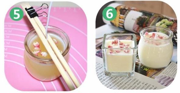 handmade soy wax candles