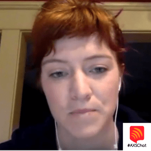 Marcy Being Interviewed For Axschat
