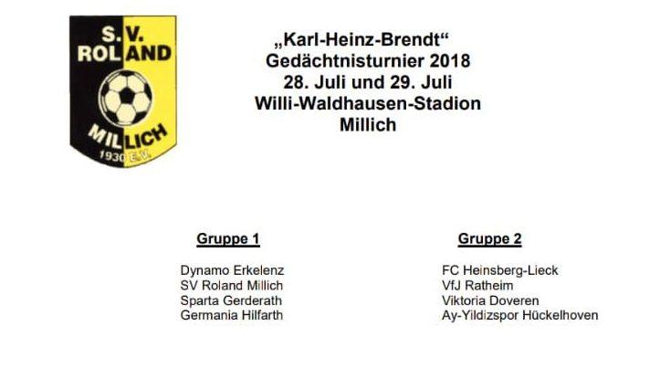 Ay-Yildizspor im Finale des K. H. Brendt Turnier in Millich