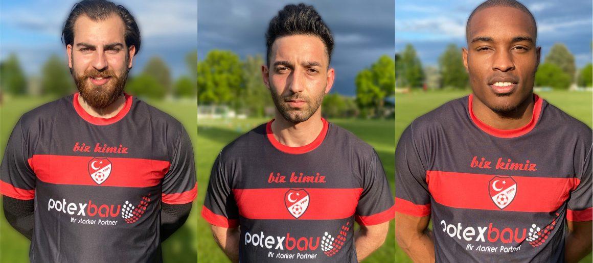 Muhammet Karpuz, Sahin Dagistan und Joy-Slayd Mickels stehen für die neue Saison bereit