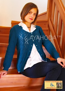 Ayahoda Handmade women warm sweater cardigan