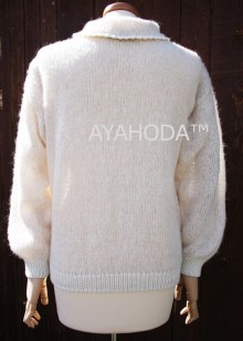 B0096 AYAHODA HandKnit Designed Women Knitwear Sweater