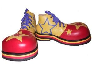 palyaco ayakkabisi