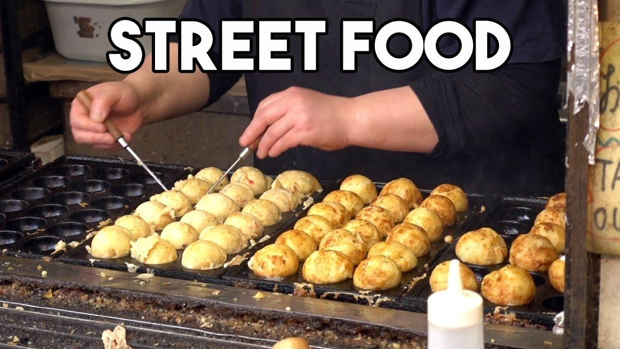 【海外】「日本の食べ物は別格だ!」日本のストリートフードを堪能する外国人に海外も嫉妬