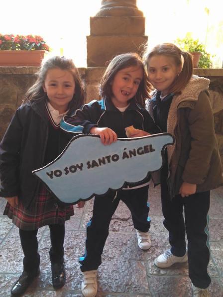 Alumnas Colegio Santo Angel