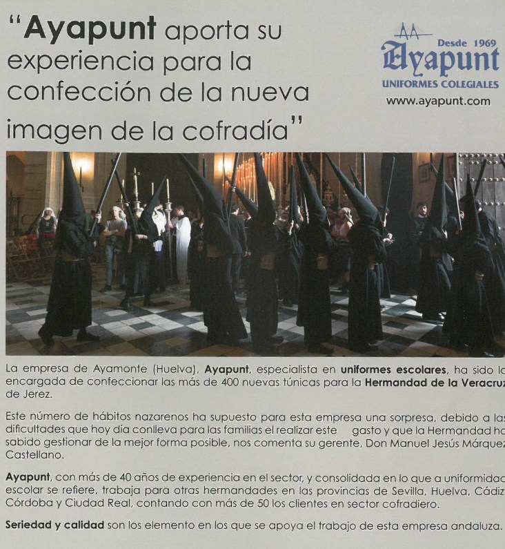 Anuario de la Hermandad de la Veracruz de Jerez