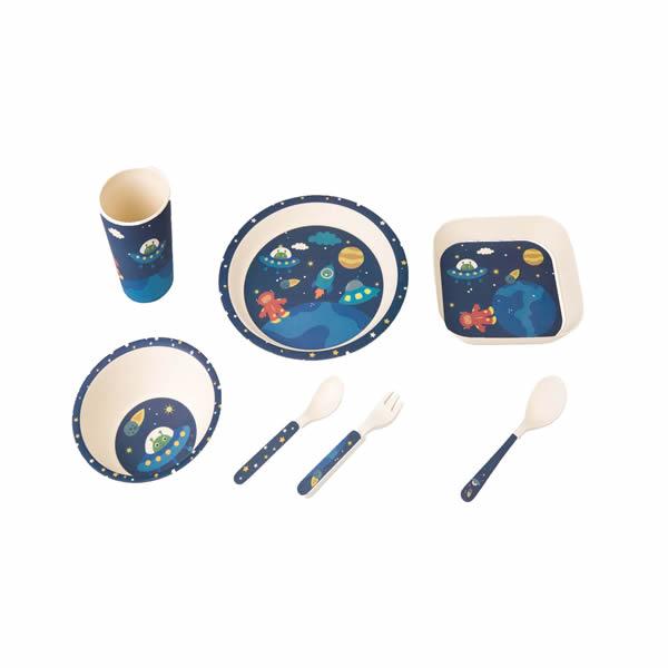Bamboo Fiber Children Tableware