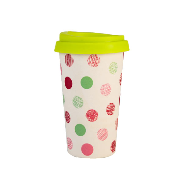 16OZ Bamboo Fiber Melamine Coffee Cup K28503M#6401