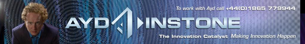 Ayd Instone creativity speaker innovation branding design